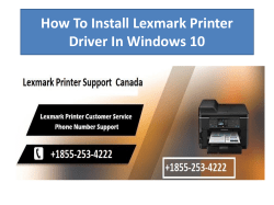 How To Install Lexmark Printer Driver In Windows 10-converted