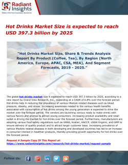 Hot Drinks Market Size is expected to reach USD 397.3 billion by 2025