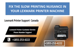 FIX THE SLOW PRINTING NUISANCE IN YOUR LEXMARK PRINTER MACHINE-converted