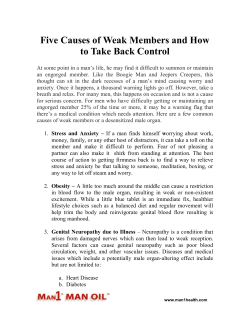Five Causes of Weak Members and How to Take Back Control
