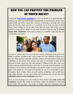 How You can Prevent the Problem of Tooth Decay