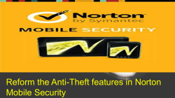Reform the Anti-Theft features in Norton Mobile Security-converted