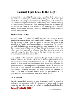Sensual Tips - Look to the Light