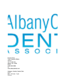 Teeth Implants Albany