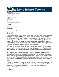 Long Island Towing Company