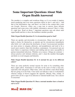 Some Important Questions About Male Organ Health Answered