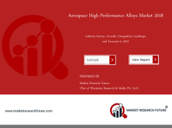 Aerospace High Performance Alloys Market