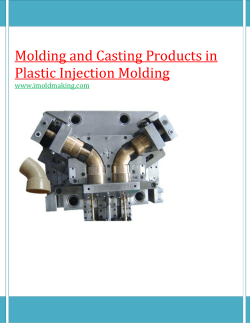 Molding and Casting Products in Plastic Injection Molding-for imoldmaking.com