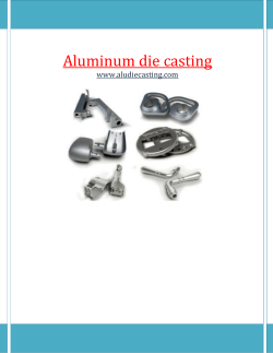 Why Aluminum is Ideal for Die Casting for aludiecasting.com