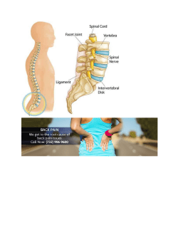 Lower & Upper Back Pain Relief