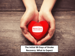The Initial 90 Days of Stroke Recovery - img